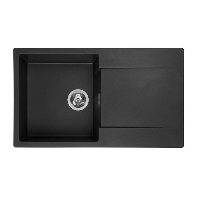 Reginox Amsterdam 10 kitchen sink metallic black