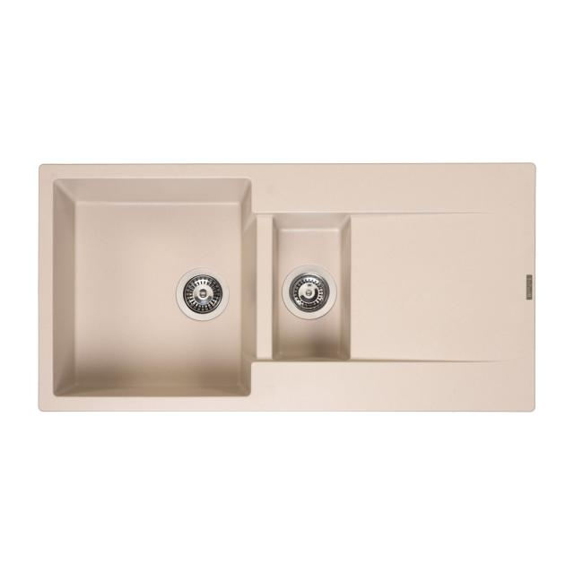 Reginox Amsterdam 15 kitchen sink metallic beige