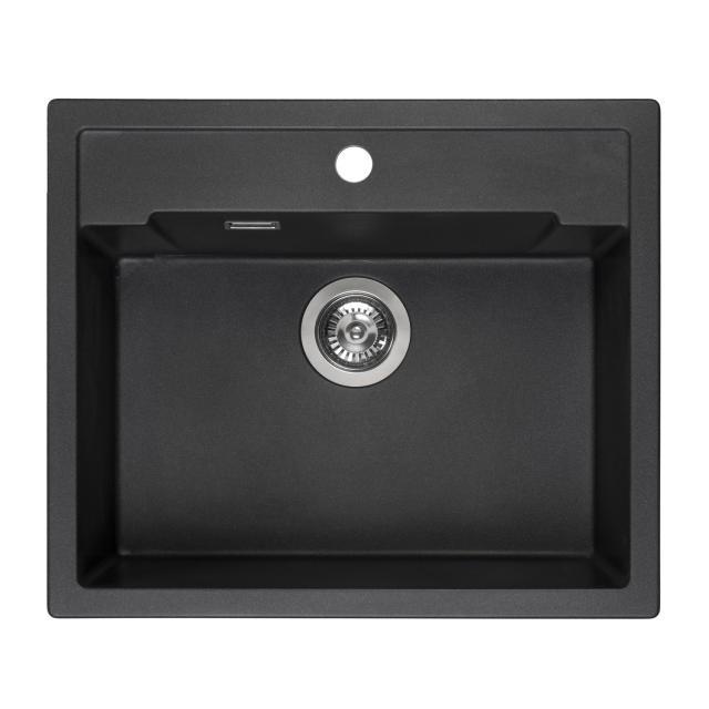 Reginox Amsterdam 54 kitchen sink metallic black