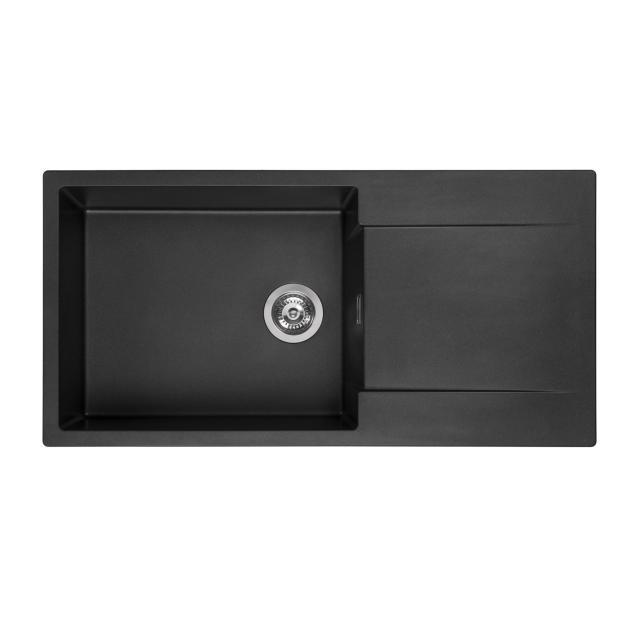 Reginox Amsterdam 540 kitchen sink metallic black