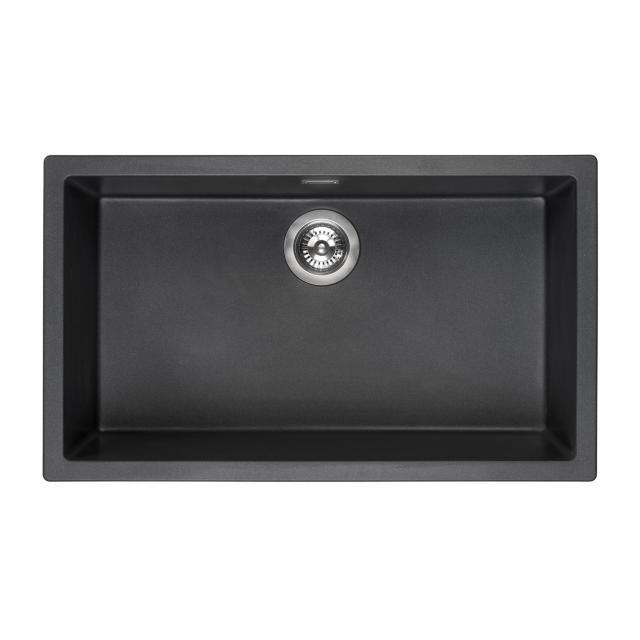 Reginox Amsterdam 72 kitchen sink metallic black