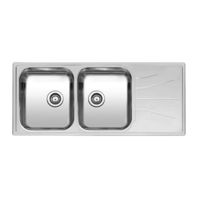 Reginox Diplomat 30 Lux kitchen sink with double basin