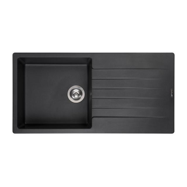 Reginox Harlem 10 kitchen sink metallic black