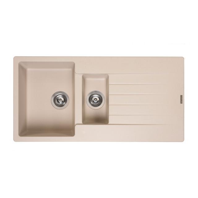 Reginox Harlem 15 kitchen sink metallic beige