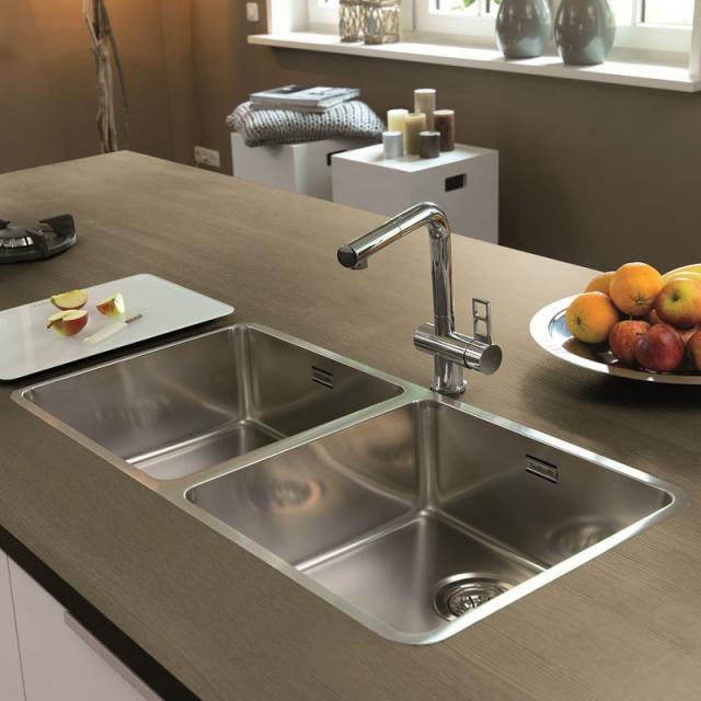 Reginox Ohio kitchen sink with double basin