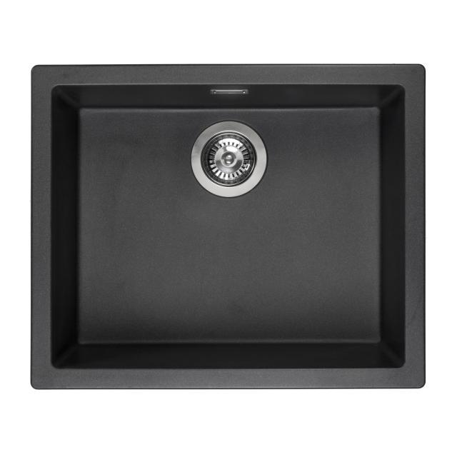Reginox Amsterdam 50 kitchen sink metallic black