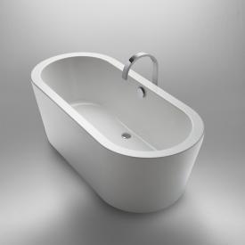 Repabad Livorno freestanding oval bath white