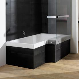 Repabad Stairway special-shaped bath white, with RepaGrip