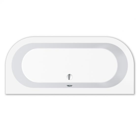 Repabad Livorno back-to-wall bath length: 180 cm, width: 80 cm without filling function