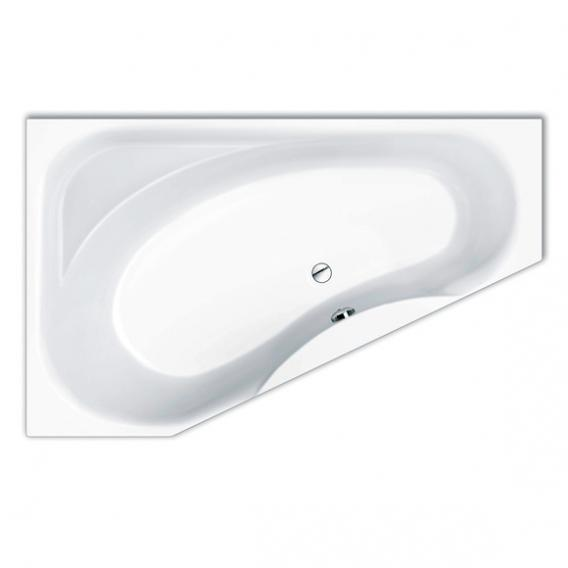 Repabad Tika compact bath with shelf white