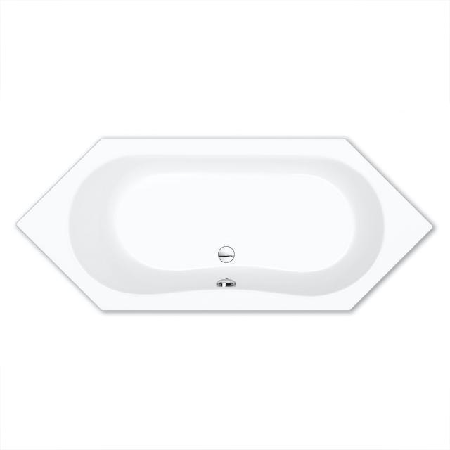 Repabad Alicante hexagonal bath white