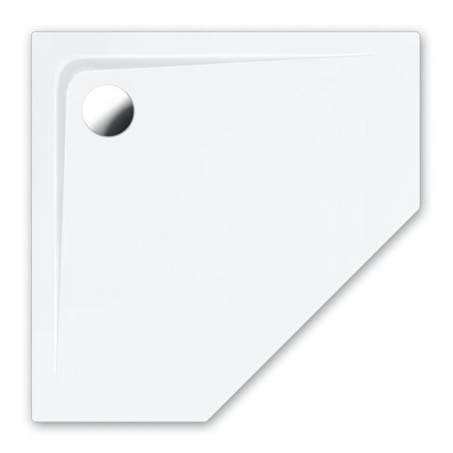 Repabad Arco pentagonal shower tray white