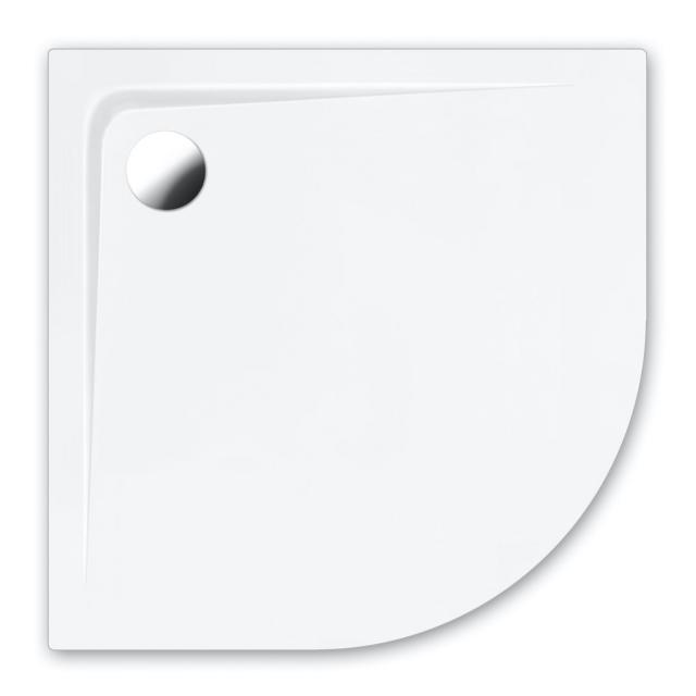 Repabad Bologna quadrant shower tray white, with RepaGrip