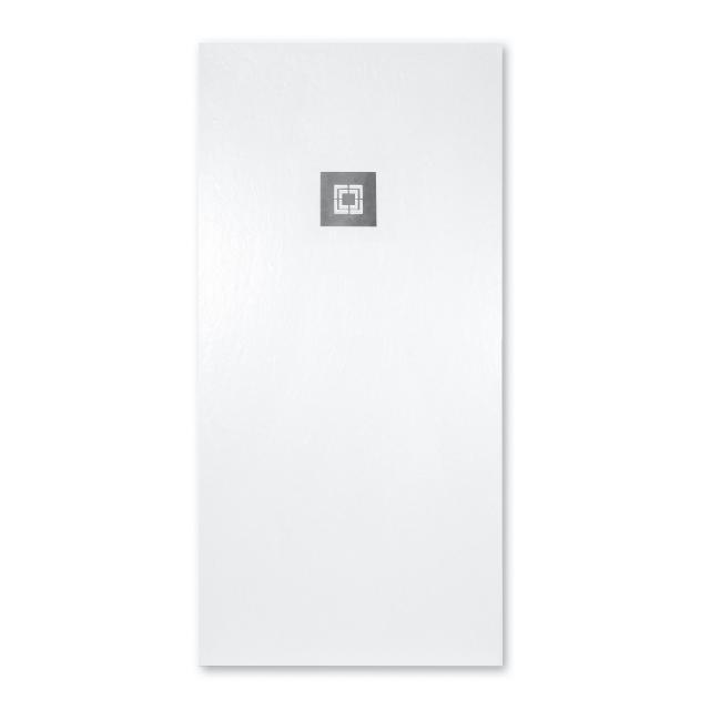 Repabad Jura square/rectangular shower tray white