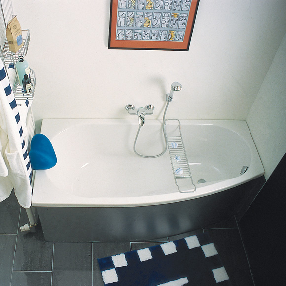 Repabad Kampen compact bath white