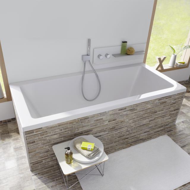 Repabad Livorno rectangular bath white