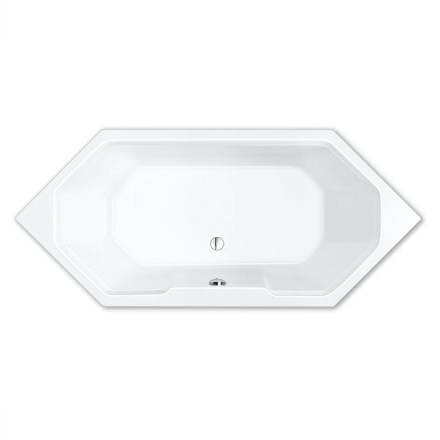 Repabad Pegasus hexagonal bath white, with RepaGrip