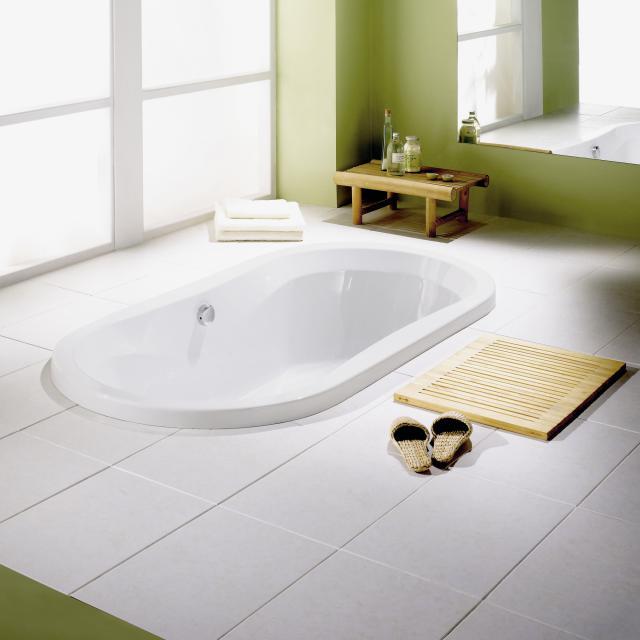 Repabad Pluto oval bath white