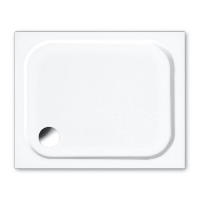 Repabad Riva S square/rectangular shower tray white, with RepaGrip