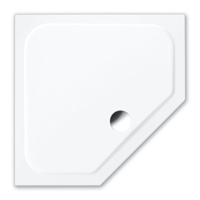 Repabad Trento S pentagonal shower tray white