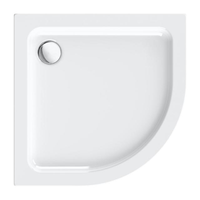 Repabad Vaduz quadrant shower tray white