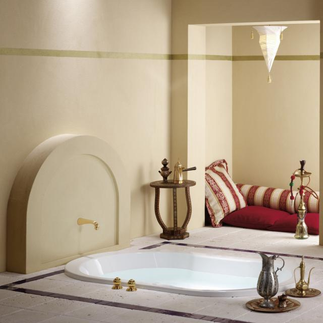 Repabad Wega oval bath white
