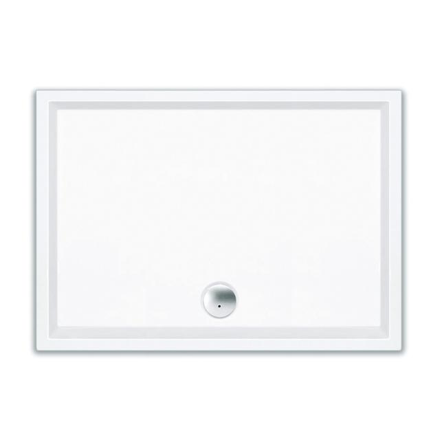 Repabad Wien square/rectangular shower tray white, with RepaGrip