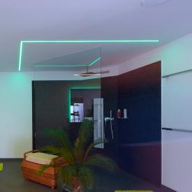 reprofil tall U LED exposed profile set RGB-WW
