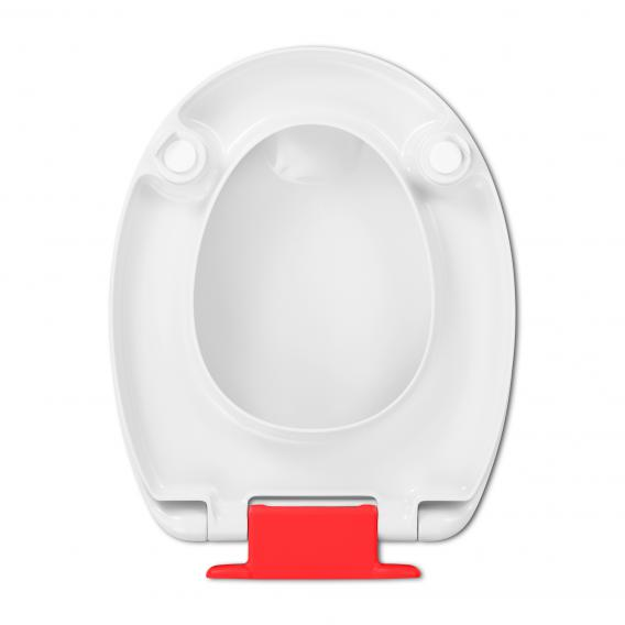 Amazing Hamberger Haromed Soft Close Toilet Seat Red With Soft Machost Co Dining Chair Design Ideas Machostcouk