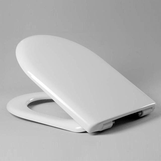 Hamberger Wave Premium toilet seat, for Keramag Mango, with soft-close & removable