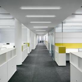 RIBAG METRON Office LED ceiling light / wall light