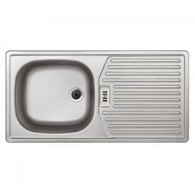 Rieber E 86 K kitchen sink matt stainless steel