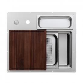 Rieber waterstation cubic 600 under-mounted kitchen sink