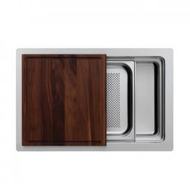 Rieber waterstation cubic single kitchen sink