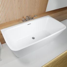 Riho Adore back-to-wall bath with panelling without filling function