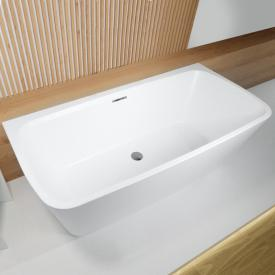Riho Adore back2wall bath with panelling with filling function