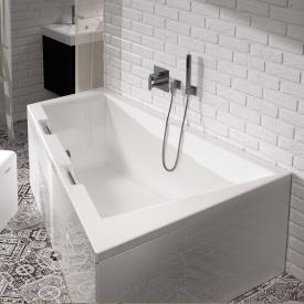 Riho Doppio corner bath, left version without Whirl system