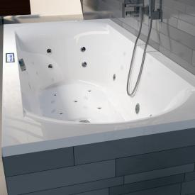Riho Lima Easypool rectangular whirlpool with electronic control