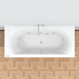 Riho Lima Easypool rectangular whirlpool with mechanical operation