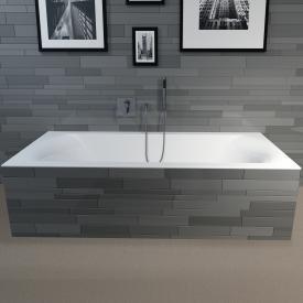 Riho Linares rectangular bath white