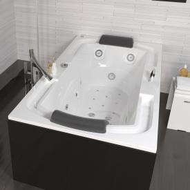 Riho Lisette rectangular Thermae whirlpool with colour light therapy & touch + heating