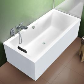 Riho Lugo rectangular bath with panelling