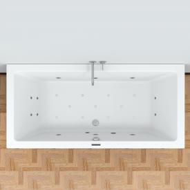 Riho Lusso Easypool rectangular whirlpool with electronic control