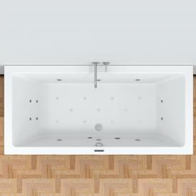 Riho Lusso Easypool rectangular whirlpool with electronic control