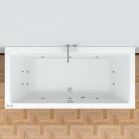 Riho Lusso Easypool rectangular whirlpool with mechanical operation