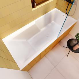 Riho Still Shower rectangular bath with filling function