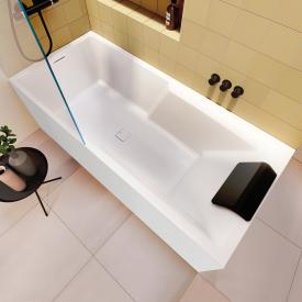 Riho Still Shower rectangular bath with panelling without filling function