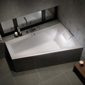 Riho Still Smart compact bath with LED lighting and headrest without filling function