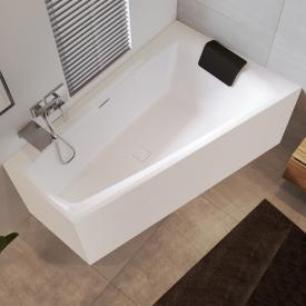 Riho Still Smart compact bath with panelling without filling function
