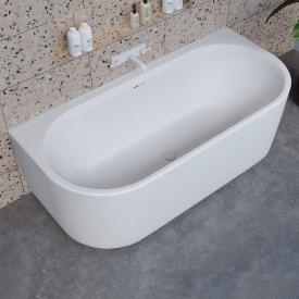 Riho Valor back-to-wall bath with panelling